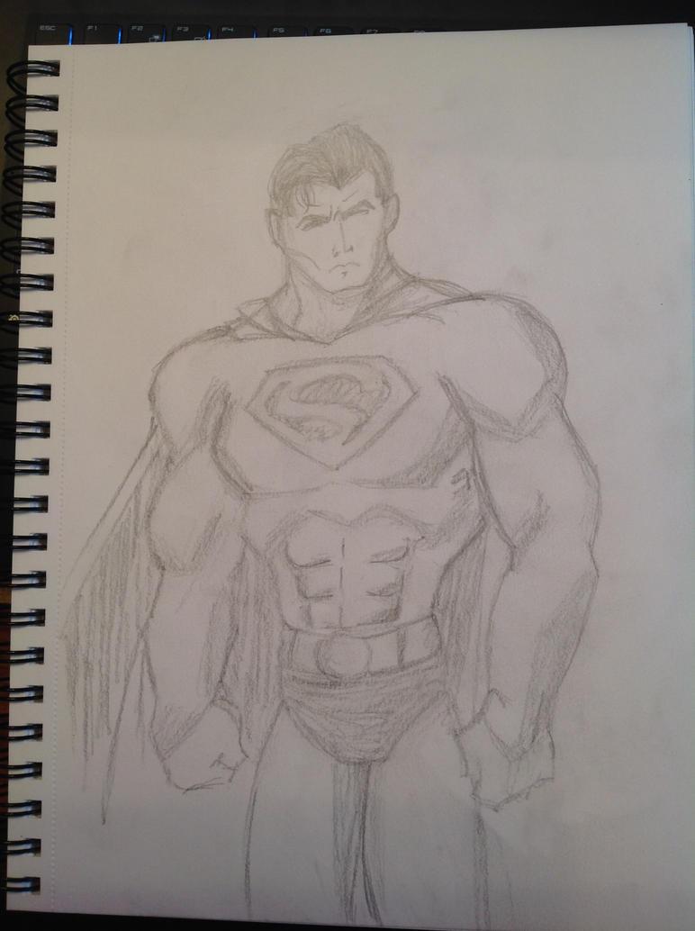 Superman by silvercubecs