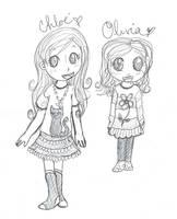 Chloe et Olivia by pikinanou