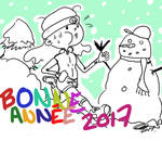 Bonne Annee 2017 by pikinanou