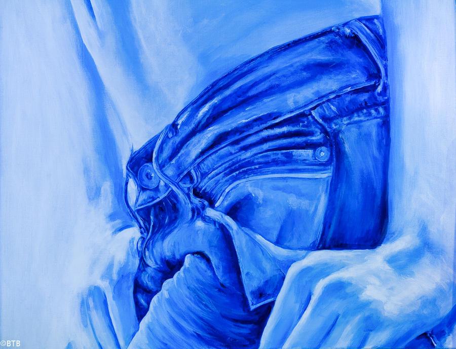 Acrylic Blue Jeans Meiltje 1