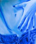 Acrylic Blue Jeans Meiltje 2