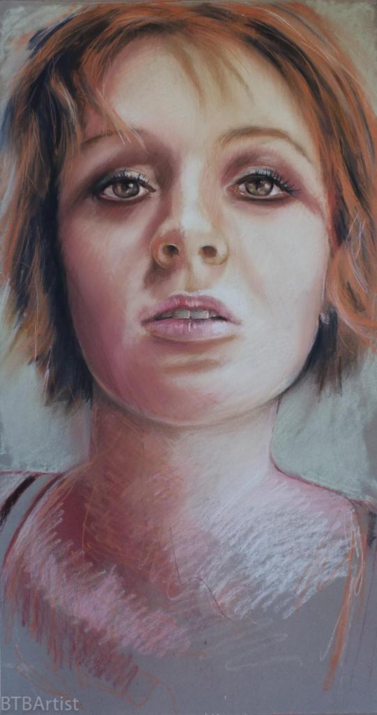 Pastel Portrait -