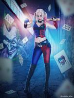 Harley Quinn by Mabelle-Elise
