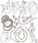 A sketch page