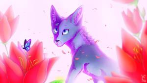 Flower friends by ThatFurryArtist