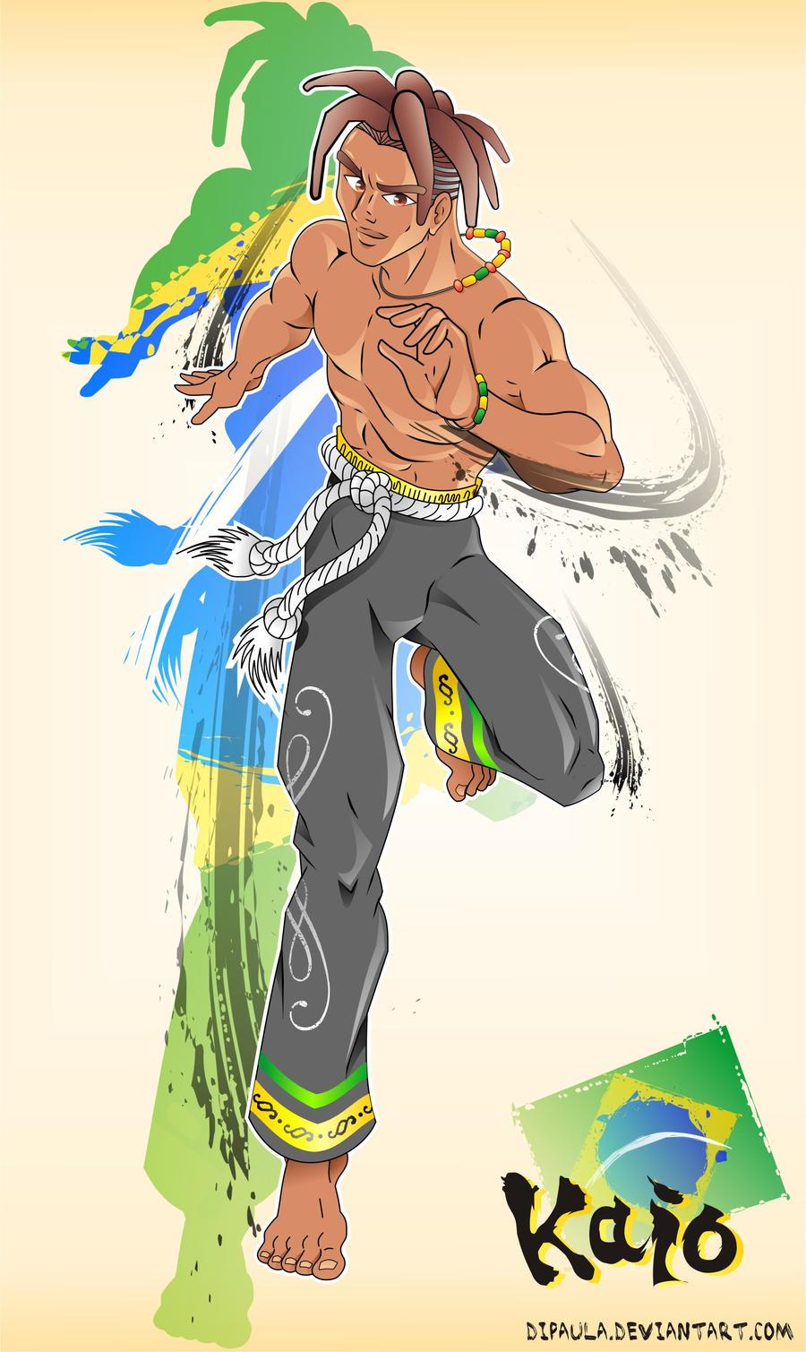 Brazilian Street Fighter by Dipaula on DeviantArt