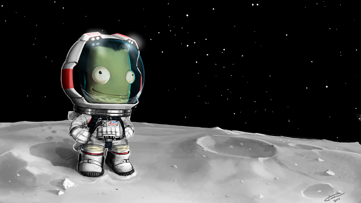 Kerbal Space Program Desktop by Timmon26 on DeviantArt