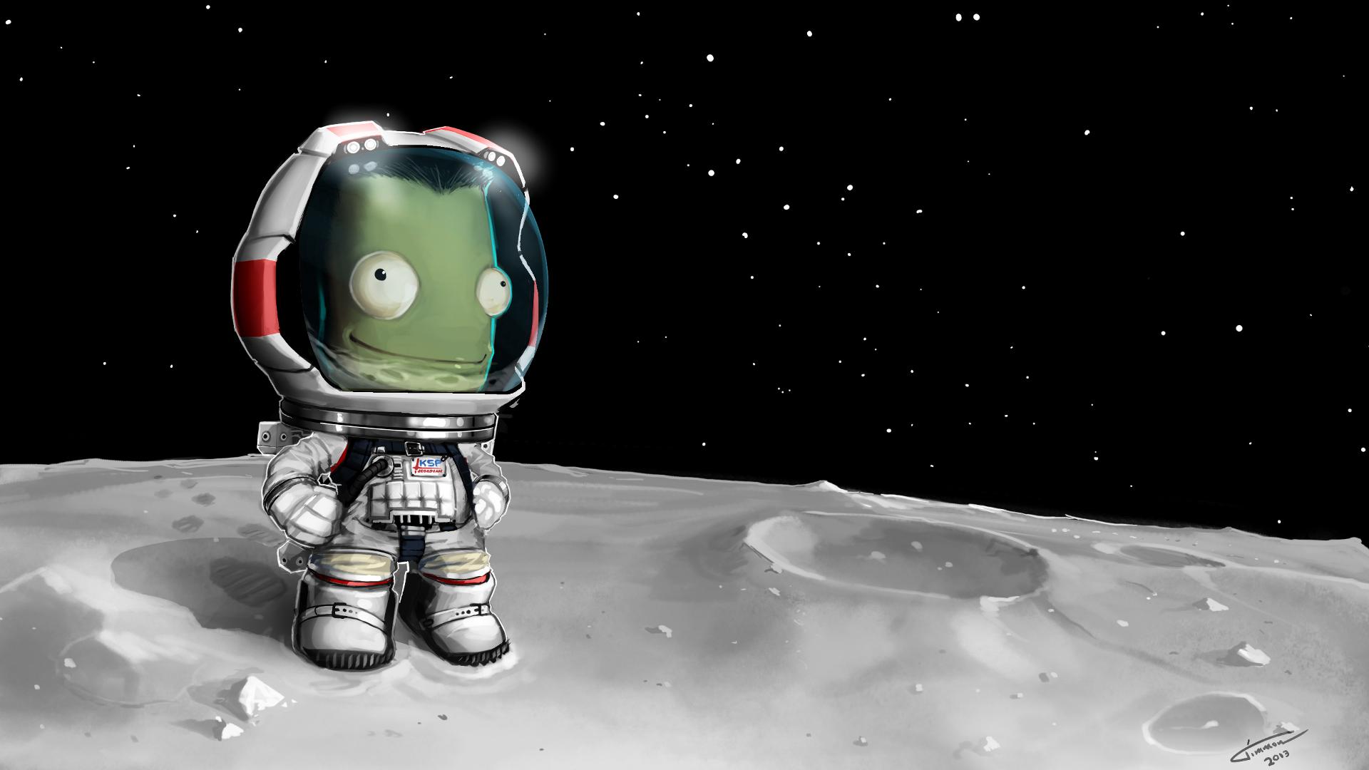 Kerbal Space Program Desktop by Timmon26