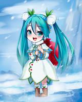 Snow Miku by Virtual-World-TV