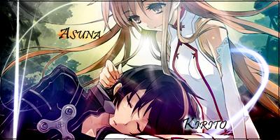 Sword Art Online: Kirito x Asuna by Nirvaxstiel