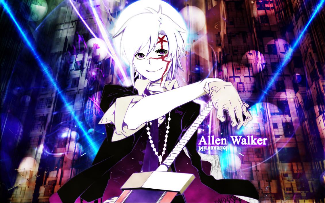 D.Gray-Man: Allen Walker Wallpaper by Nirvaxstiel