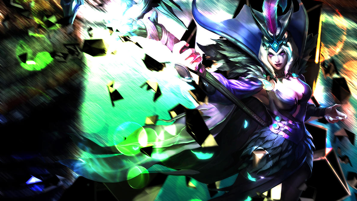 League of Legends - Ravenborn Le Blanc Wallpaper by Nirvaxstiel