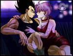 Vegeta and Bulma love