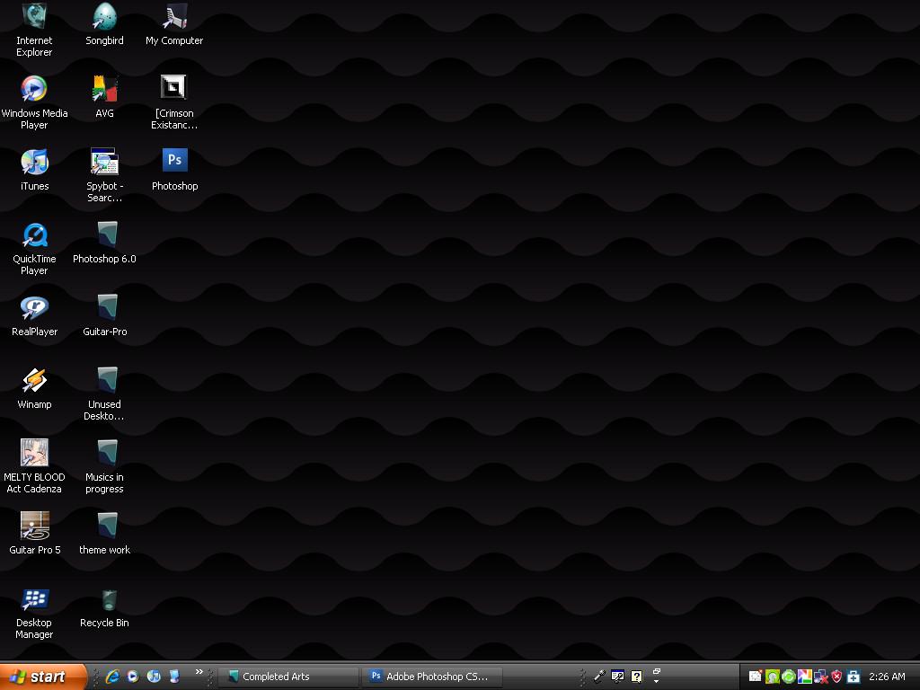 My Desktop?? by Oni-Sol