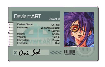 Oni-Sol's Profile Picture