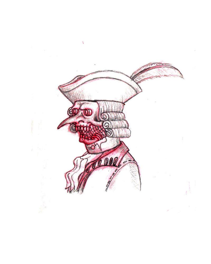 Evil Steampunk Aristocrat by underworlddreamer