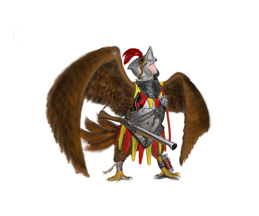 Half Roc Knight by underworlddreamer