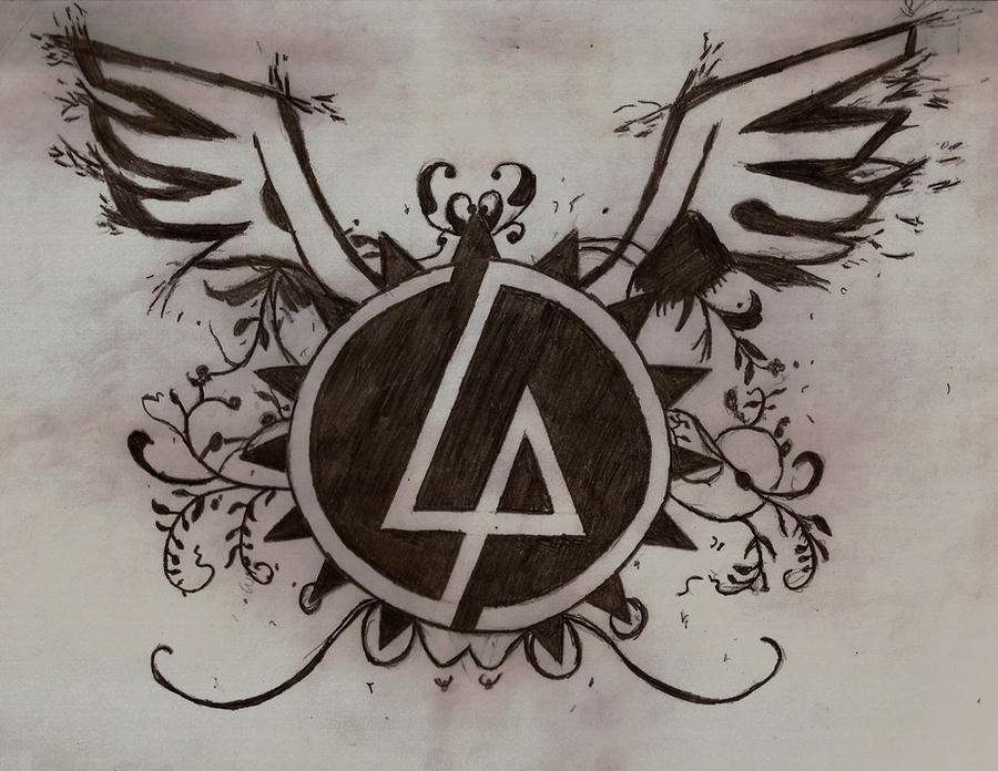linkin park logo by 1xwhiplashx1 on deviantart. Black Bedroom Furniture Sets. Home Design Ideas