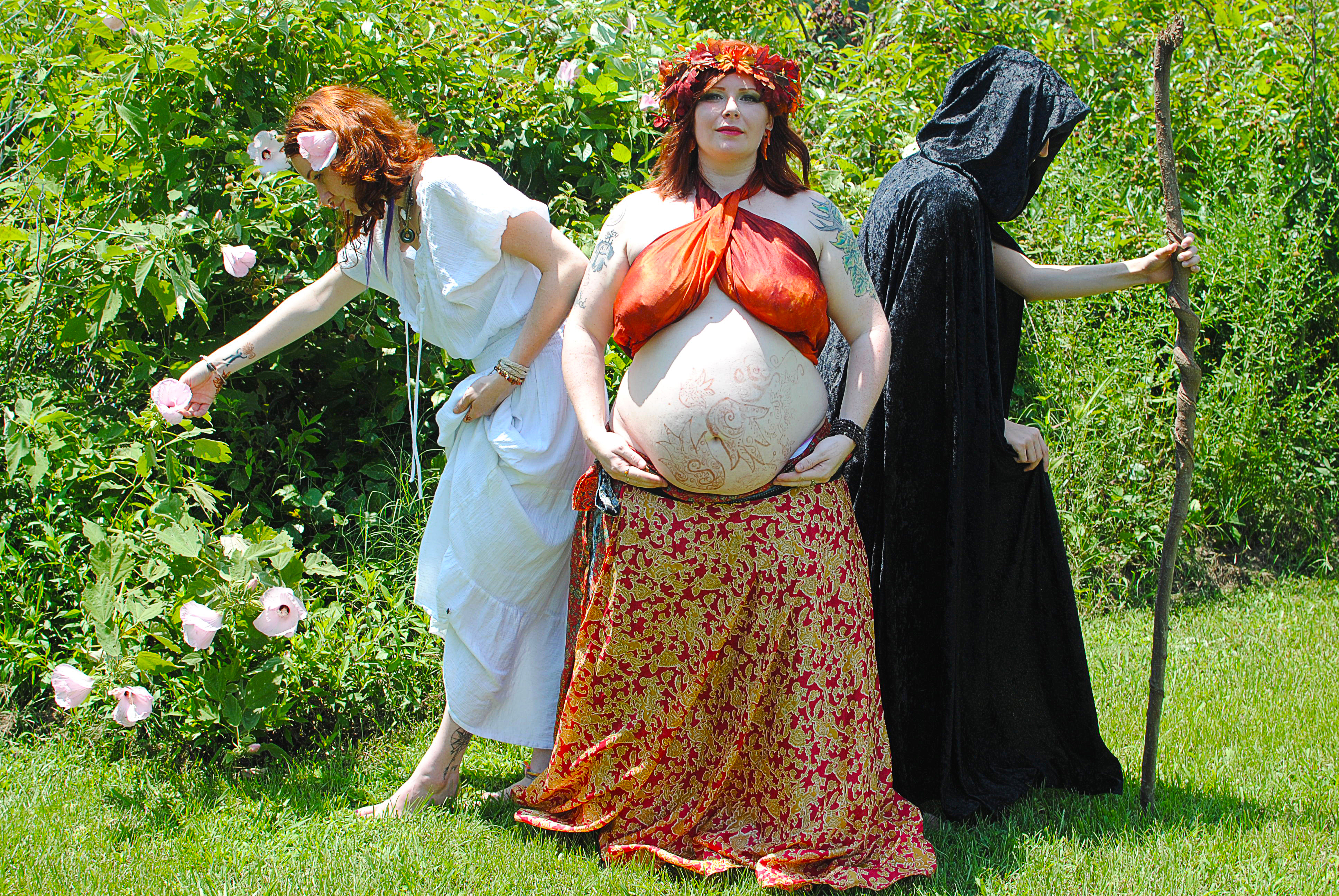 Triple Goddess 2 by MerlinsMoonShadow
