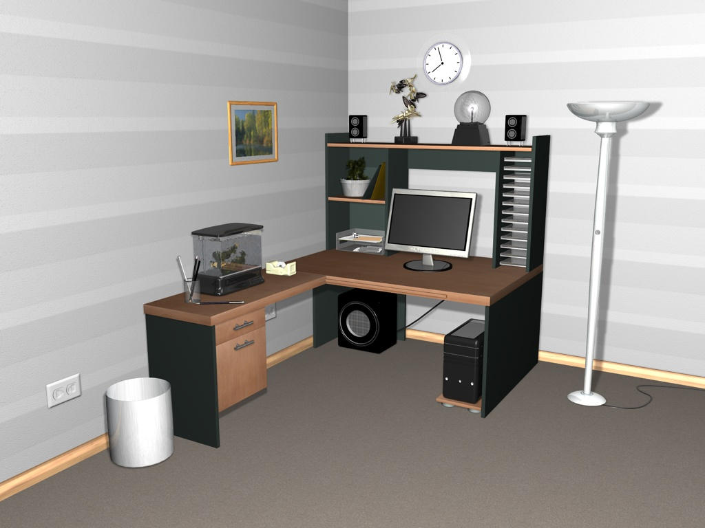 Unfinished Room 1.0 by Ghost-001-