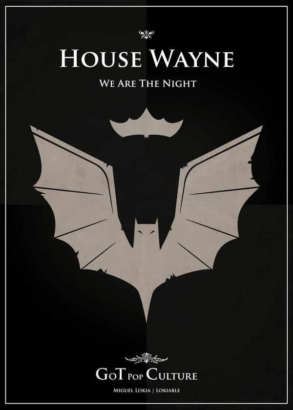 Poster Wayne by Lokiable