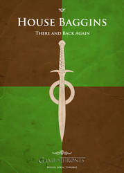 Poster Baggins by Lokiable