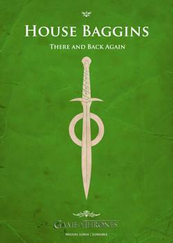 Poster Baggins (green)