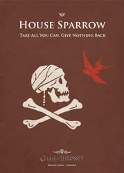 Sparrow by Lokiable