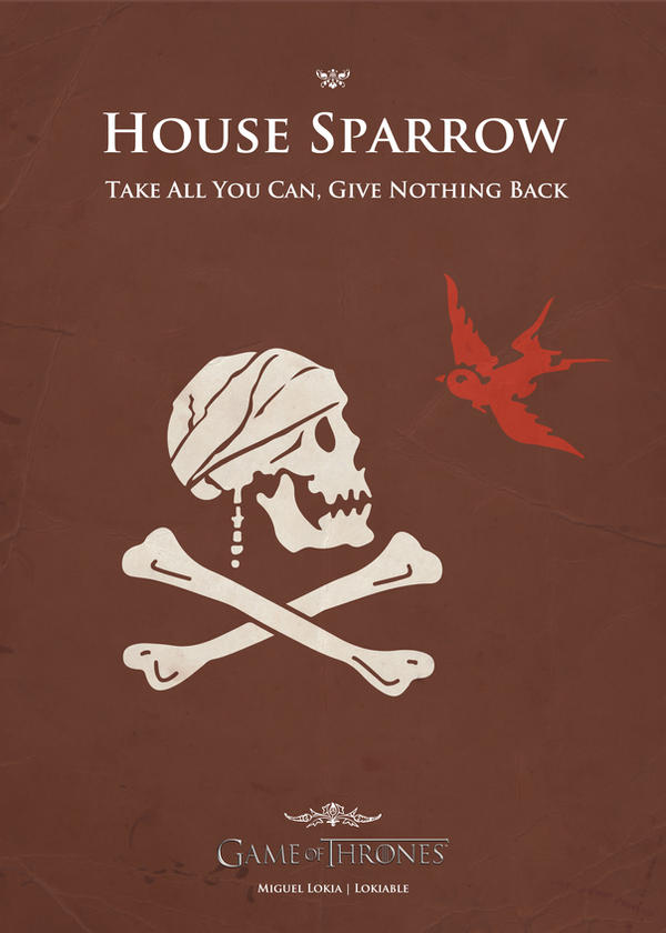 Sparrow by Lokiable