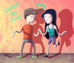 2014 - Adventure Time-ish love by Lokiable