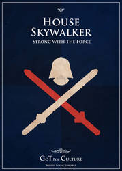 Poster Skywalker by Lokiable