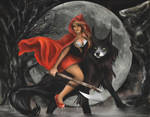 RED Riding The Wolf