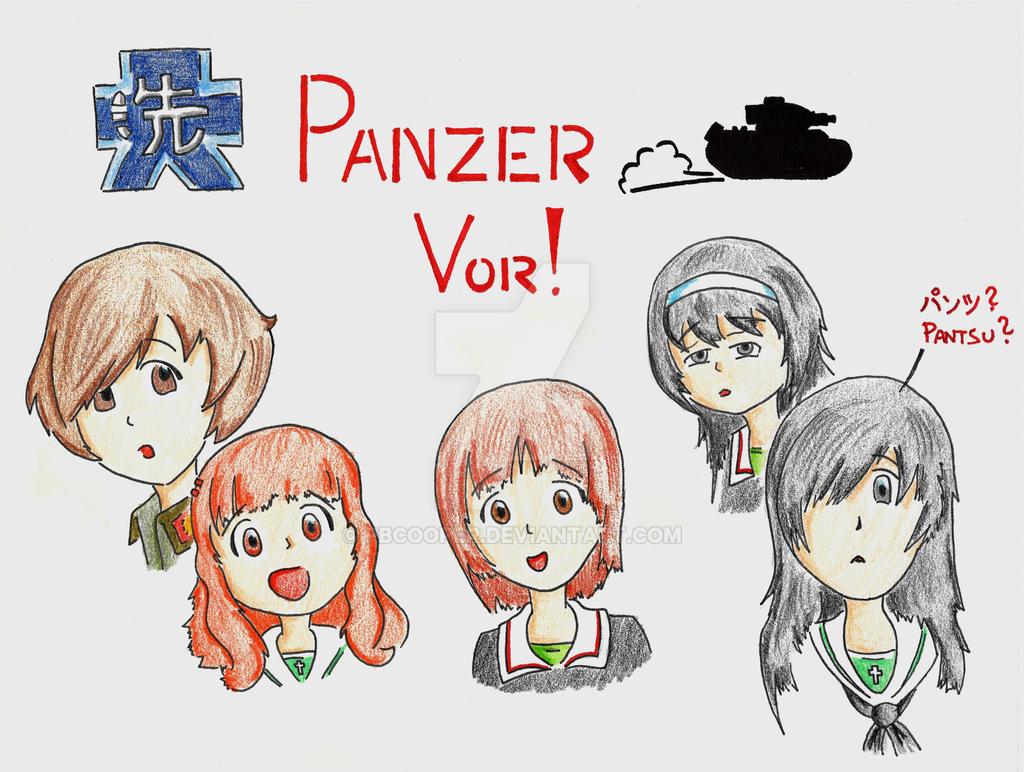 Girls und Panzer by PBCooper