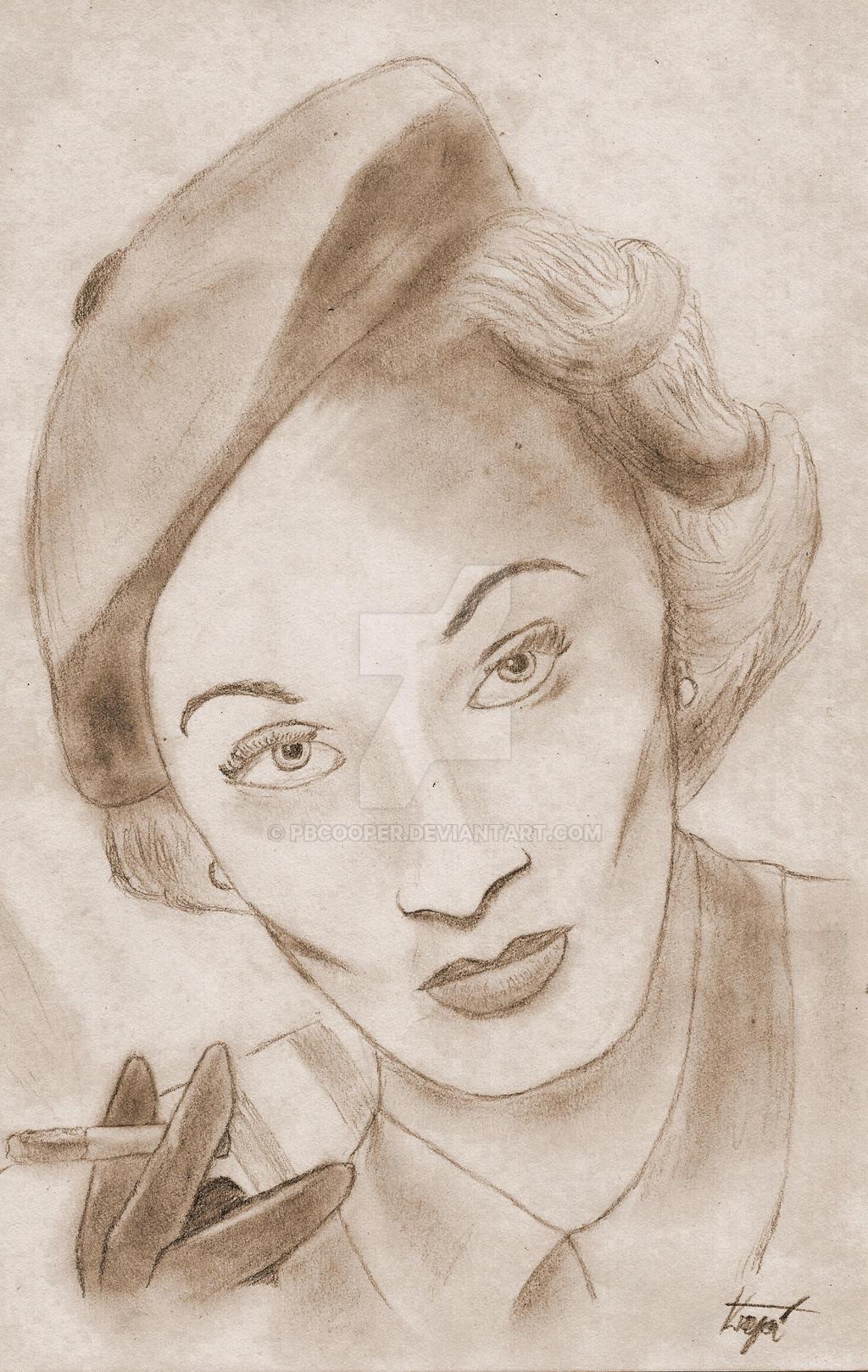 Marlene Dietrich by PBCooper