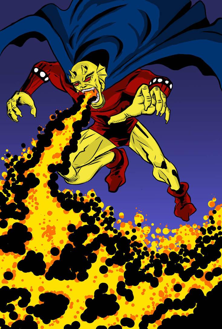 Demon for Comic Art Alliance