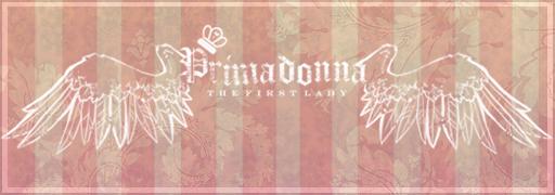 Primadonna, finished banner by Louska