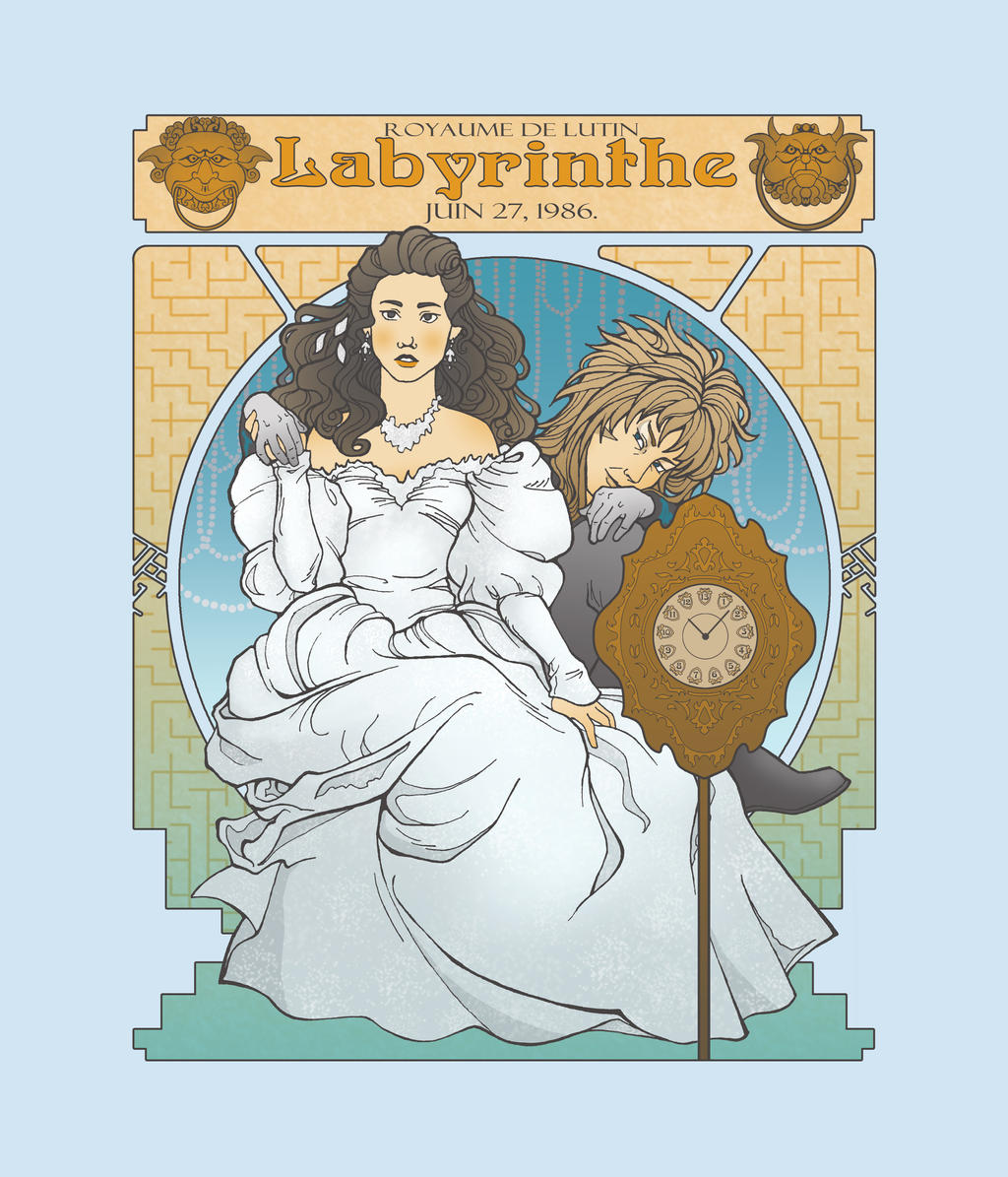 Labyrinth Nouveau Illustration