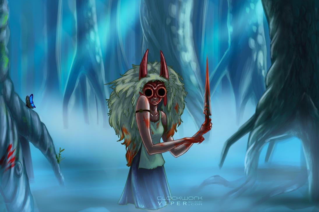 Princess of the Spirits by clockworkViper