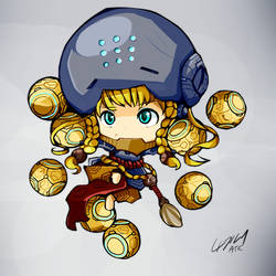 ChibiOverwatch Zenyatta