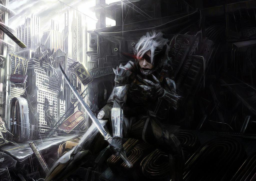 Jack Raiden - Metal Gear Rising Revengeance by NagoyaKiD