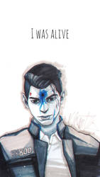 Connor | Detroit: Become human by NagoyaKiD