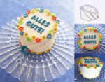 Bluemchen-Geburtstagstorte by Stariva