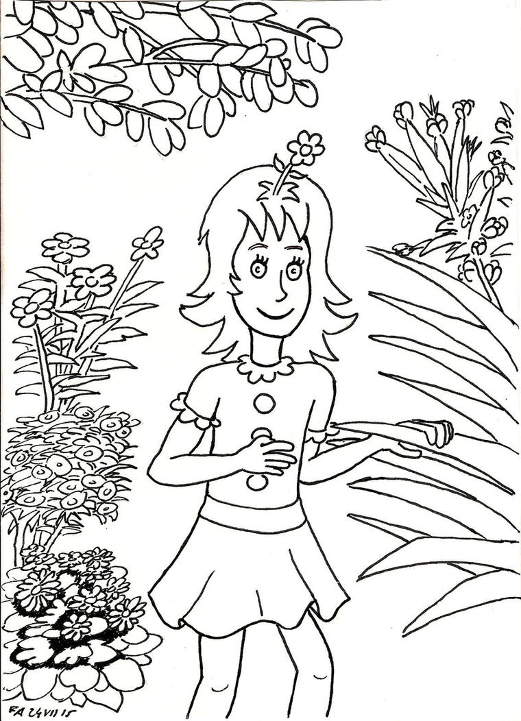 Daisy head mayzie 2 by fff66 on deviantart for Daisy head mayzie coloring pages