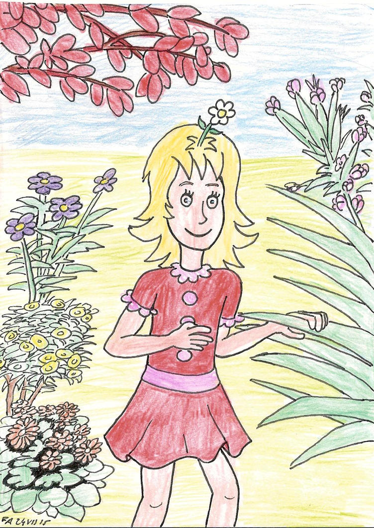 Daisy head mayzie 2 color by fff66 on deviantart for Daisy head mayzie coloring pages