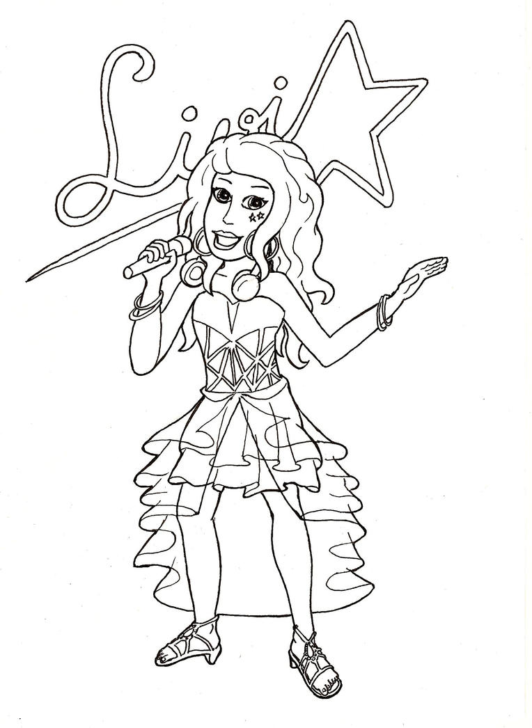 Lego friends livi by fff66 on deviantart for Coloring pages of lego friends