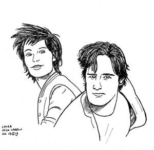 Nicky Larson and Laura