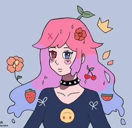 DTIYS 53 Rainbow Pastel Hair Girl