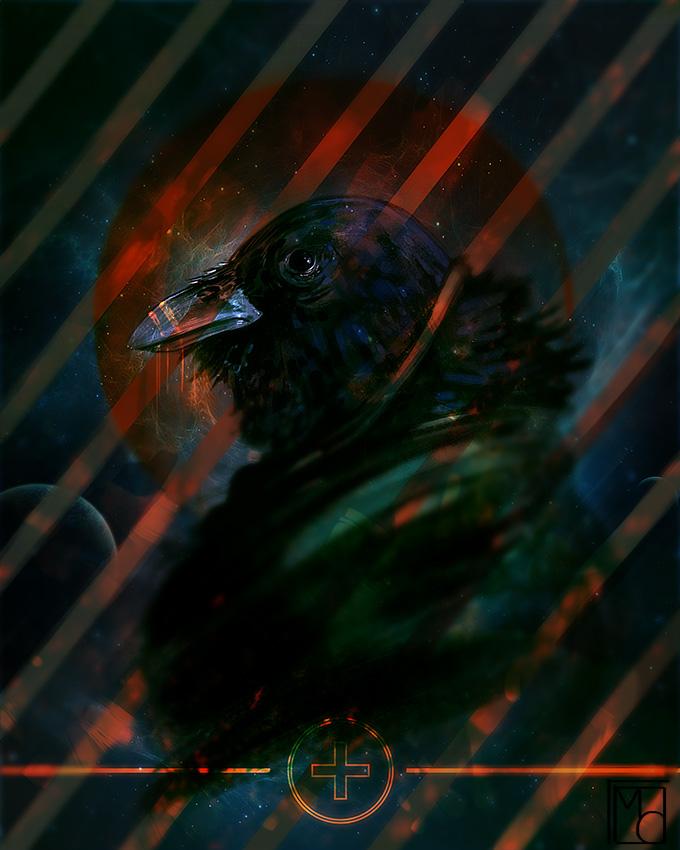 .Crow. by lunaticenigma
