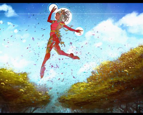 .Windwalker. by lunaticenigma