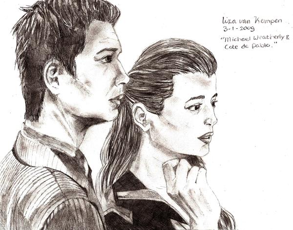 Tony and Ziva, NCIS by VKliza